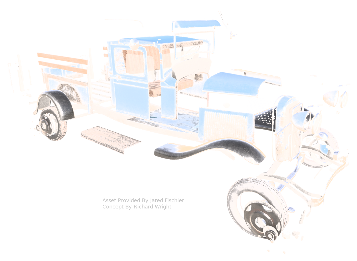 Truck Asset shown using Nira Exploded View